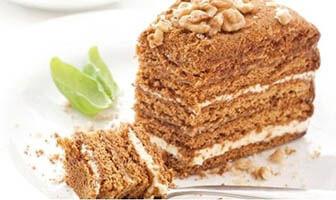 Торт с медом быстро простое рецепт