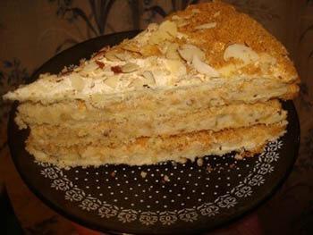 анечка торт медовик