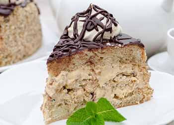 Бисквитные торты с кремом