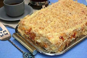 готовое тесто «наполеон»