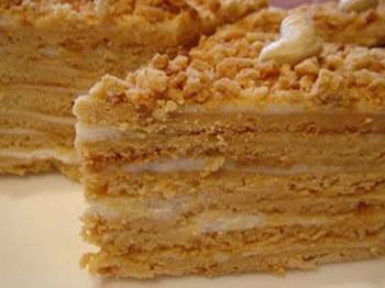 заварной торт наполеон