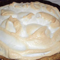 песочный торт с белковым кремом