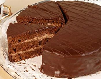торт бисквит с сгущенкой