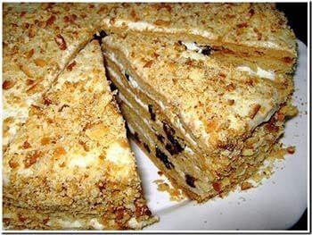 Рецепт торта с медом в домашних условиях