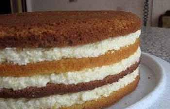 Птичье молоко торт с кремом из манки