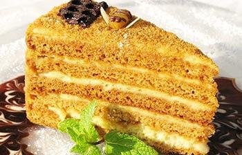 песочный торт со сгущенкой