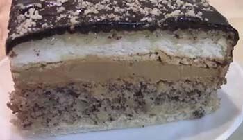 торт Сникерс в домашних условиях