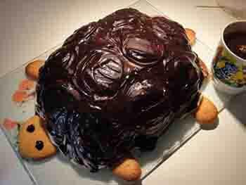 Рецепты тортов черепаха в домашних условиях с фото пошагово 561