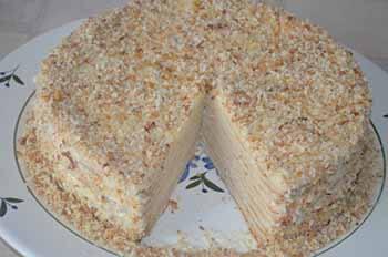 торт наполеон в мультиварке