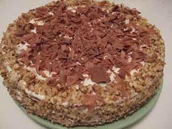 торт сметанный в домашних условиях