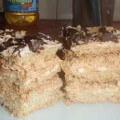 торт сникерс воздушный