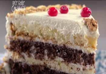 торт сметанник Все буде смачно