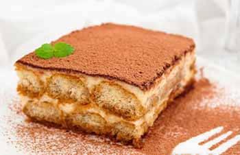 торт тирамису без маскарпоне