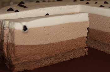 торт три шоколада в мультиварке