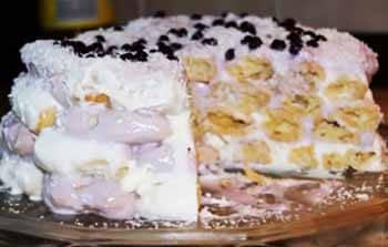 торт дамские пальчики пошагово