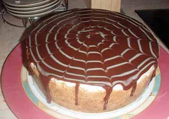 торт сливочно-шоколадный