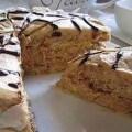 торт шоколадный дуэт с орехами
