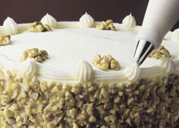 кремовое украшение тортов