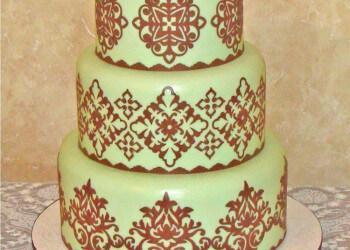 украшение айсингом торта