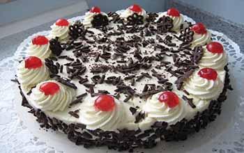 рецепт торта черный лес с вишней пошаговый