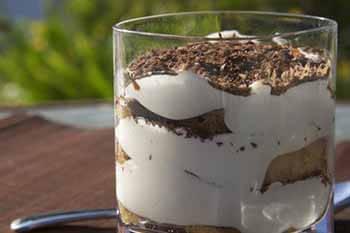 десерт воздушное тирамису