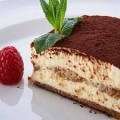 торт тирамису с творогом по домашнему
