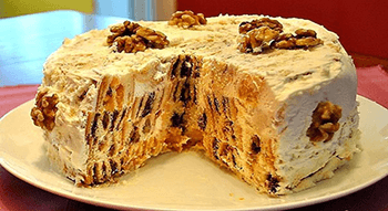торт трухлявый пень дома
