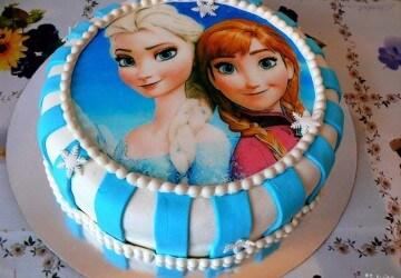 детский вафельный торт