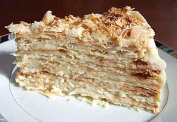 наполеон торт история