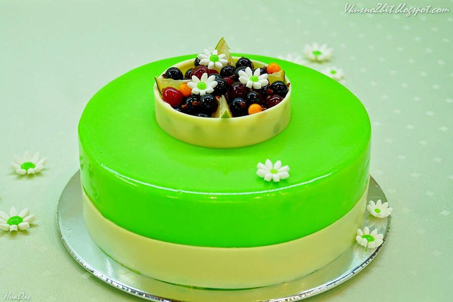 Как сделать глянцевую глазурь для торта рецепт пошагово