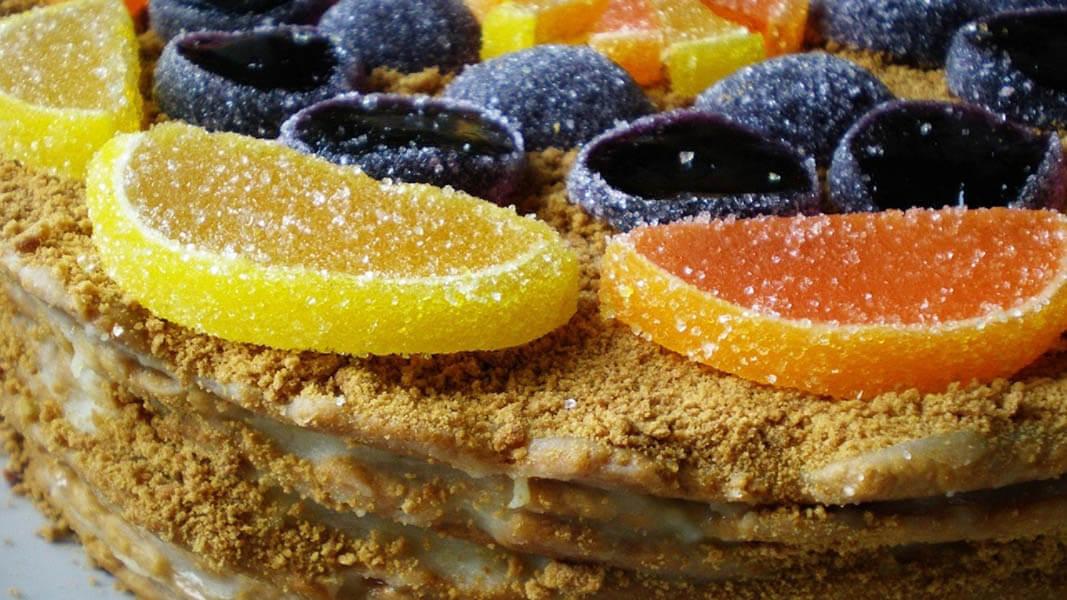 Фото мармеладных тортов