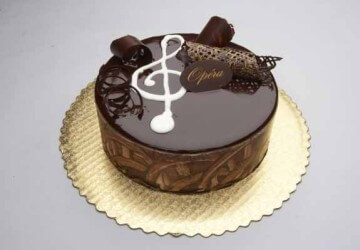 Как украсить торт из коржей