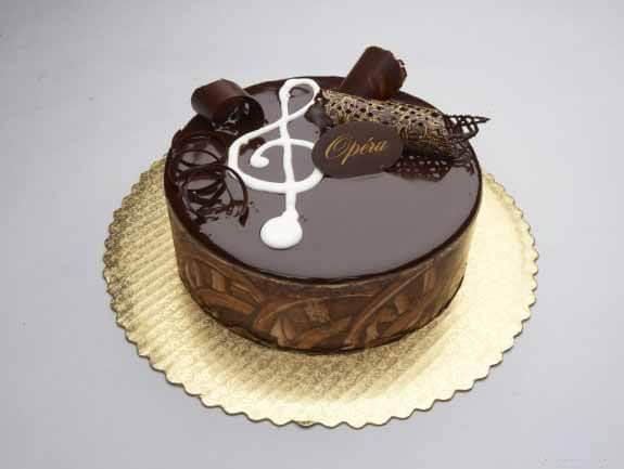 Торт наполеон с шоколадной глазурью