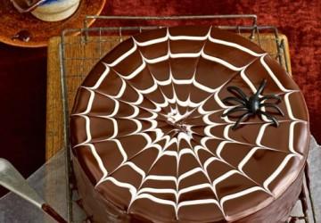 шоколадный красивый торт