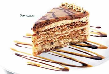 эстерхази история торта