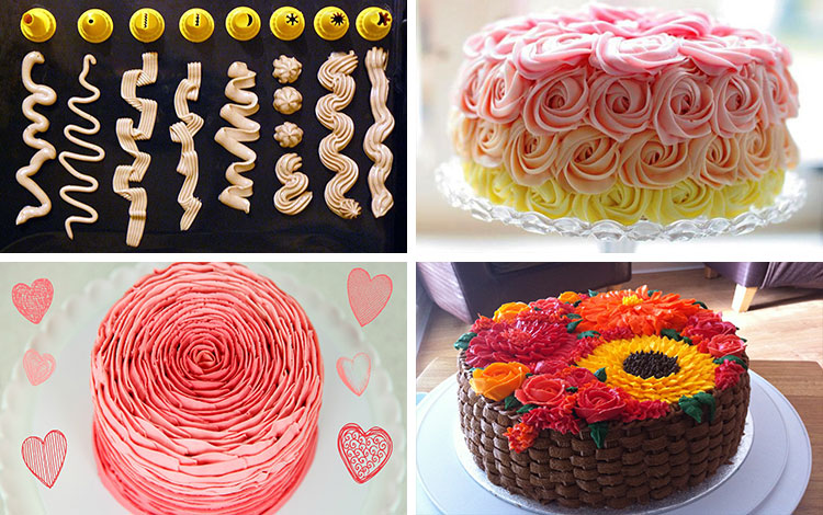 Красивые и несложные торты своими руками 13