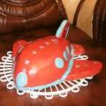 Торт с машинкой для мальчика