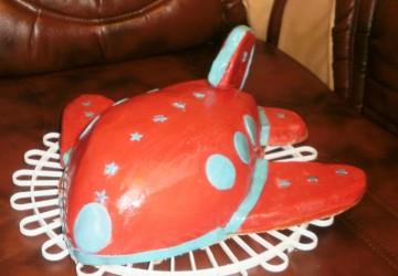 Торт Самолет мастер класс1