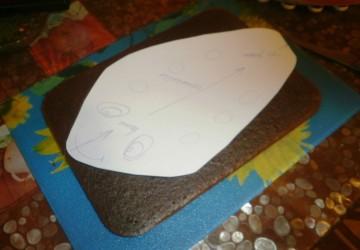 Торт Самолет мастер класс4