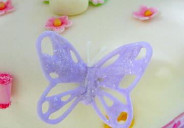 бабочка из айсинга