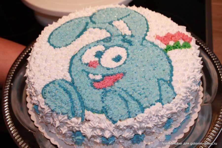 Как украсить торт белковым кремом фото