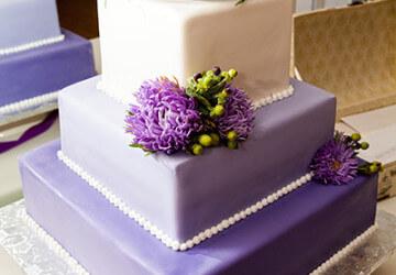 красивое украшение торта цветами