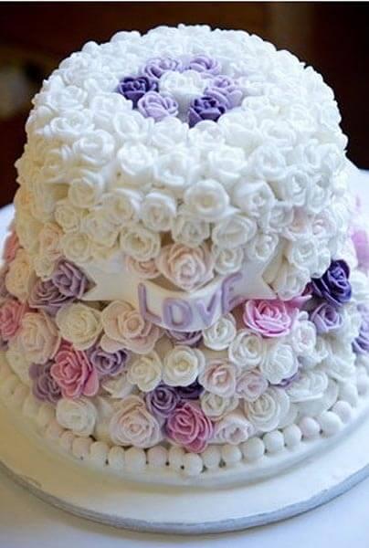 Украшение свадебных тортов в домашних условиях