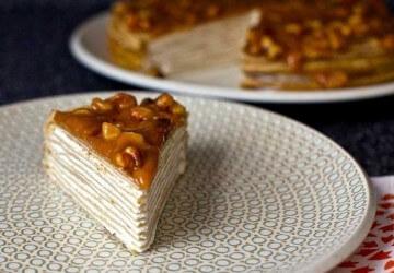 медово-ореховая глазурь