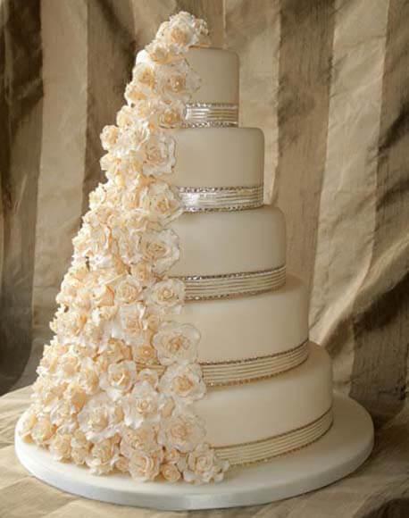 Свадебные торты своими руками пошагово