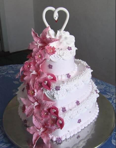 Своими руками сделать свадебный торт