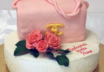 торт на день рождение женщине4