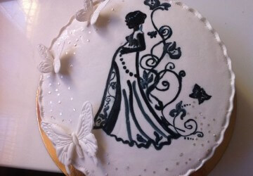 Красивый торт на юбилей женщине