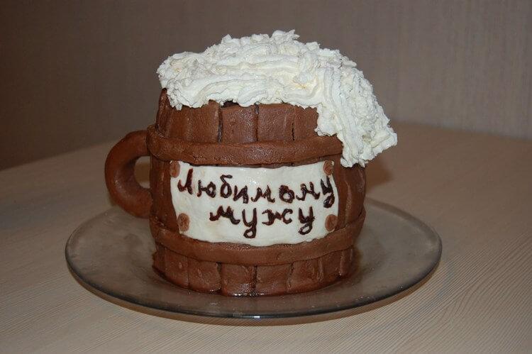 Торт на 60 лет мужчине своими руками