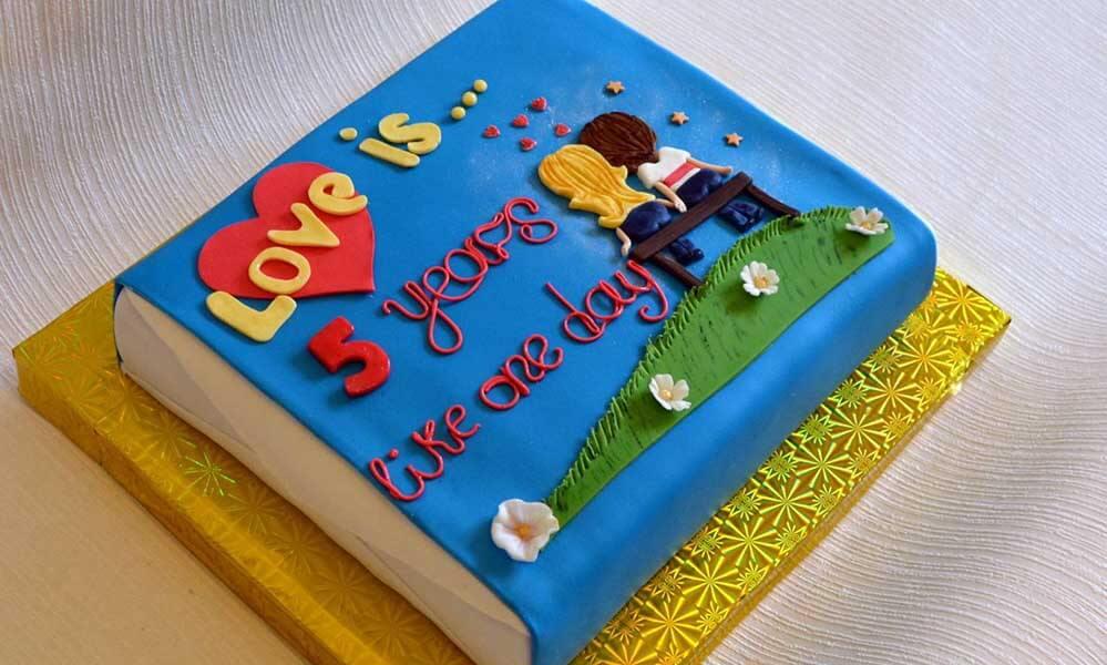 Торт на год отношений своими руками